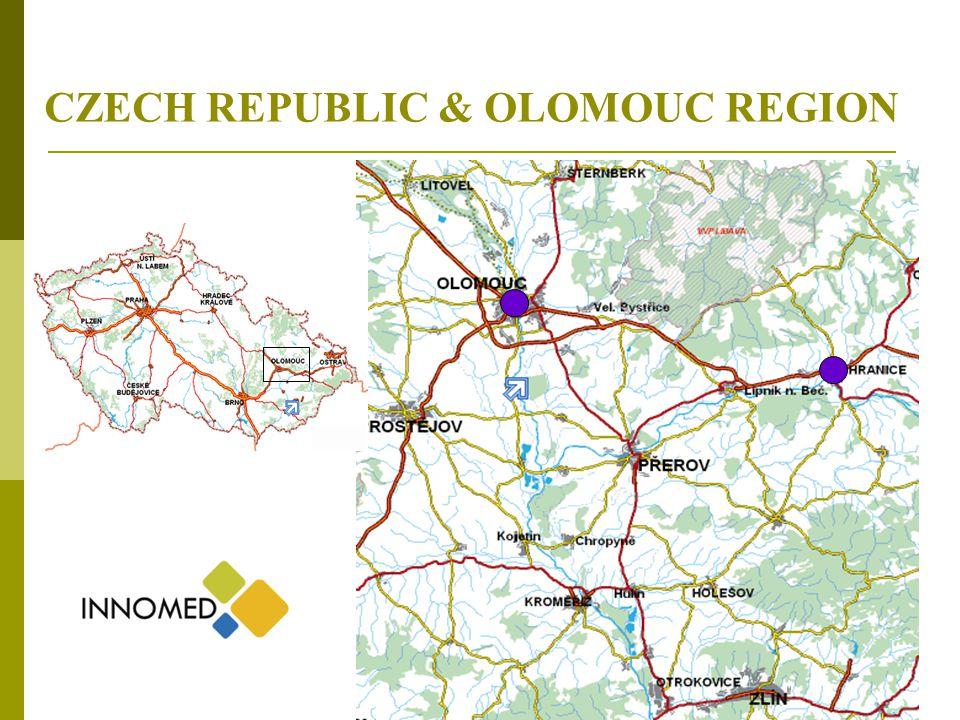2 CZECH REPUBLIC & OLOMOUC REGION