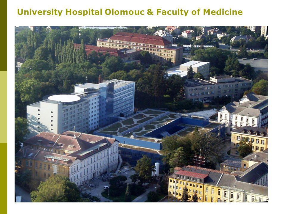 4 University Hospital Olomouc & Faculty of Medicine
