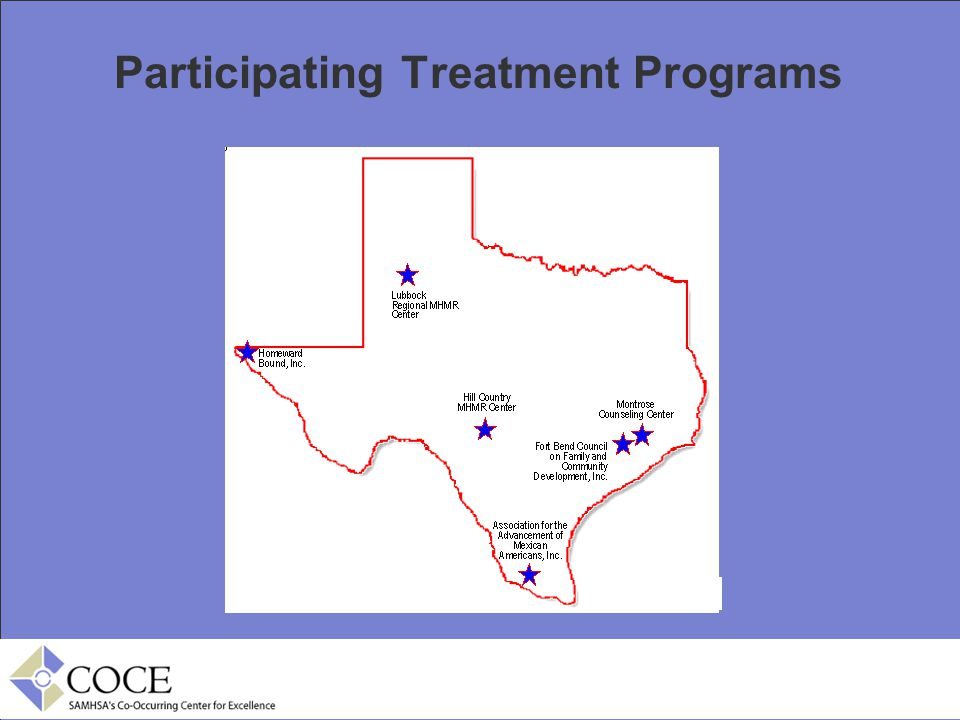 Participating Treatment Programs
