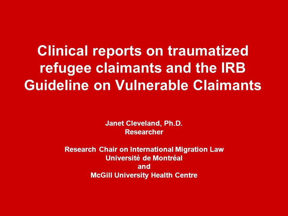 Refugees and immigrants: distinctions Immigrants: admission based on economic criteria OR as a family member Refugees: individuals with serious reasons to fear persecution in country of origin on grounds defined by law