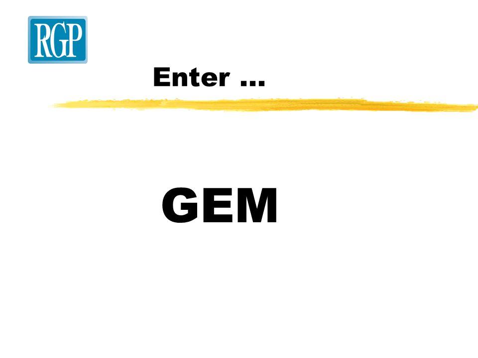 Enter... GEM