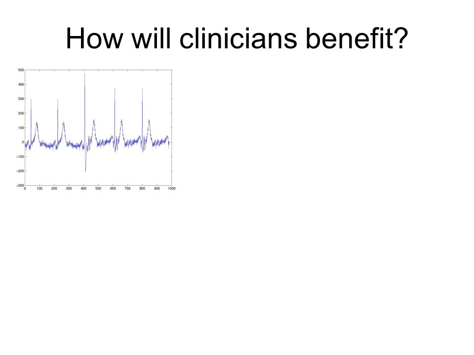 How will clinicians benefit