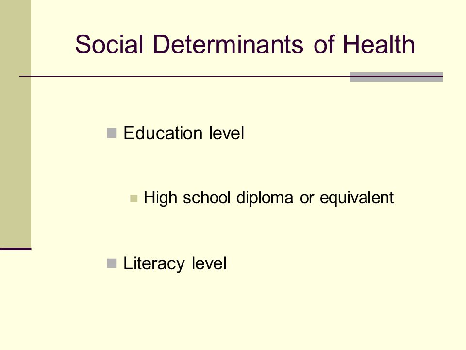 The Impact of Low Literacy on Health  Poorer health knowledge  Poorer health status  Higher mortality  More hospitalizations  Higher health care costs