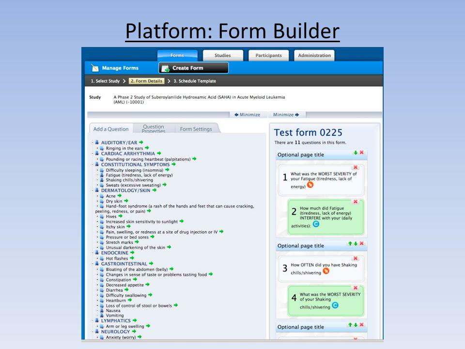 Platform: Form Builder