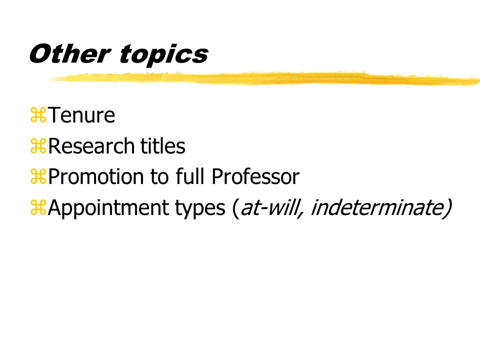 MYTH zMost Assistant Professors don't get promoted yAt least not on the first try