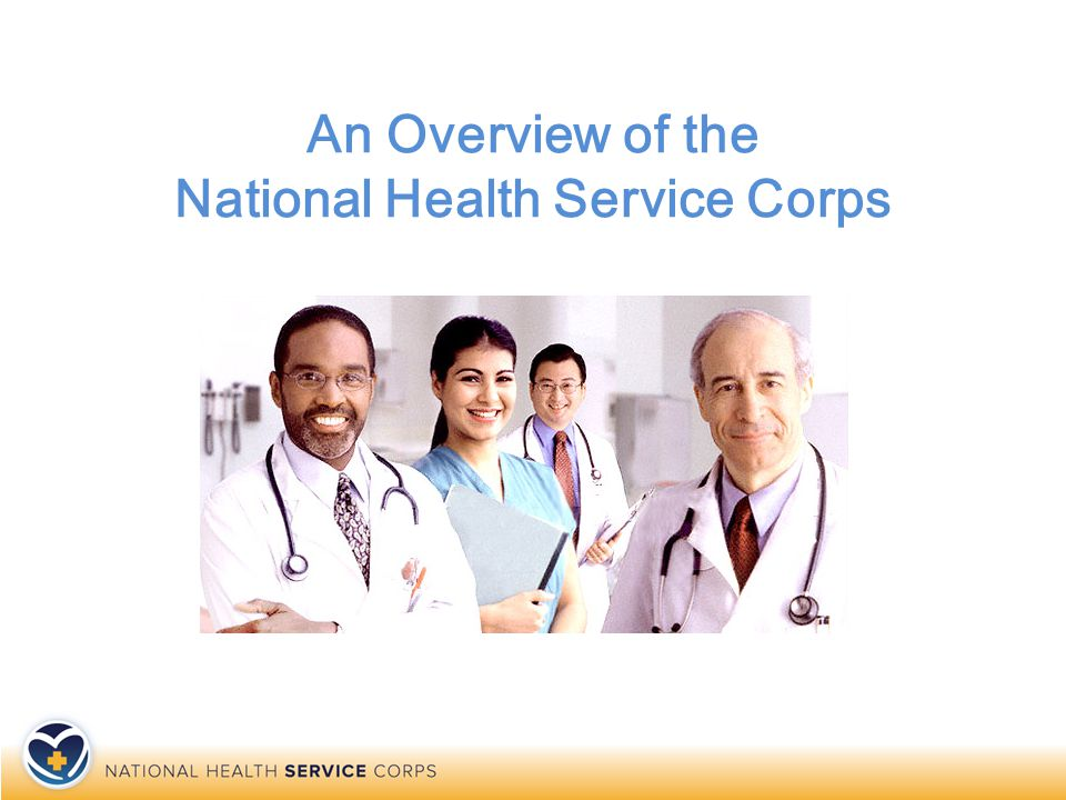 What does the NHSC do.