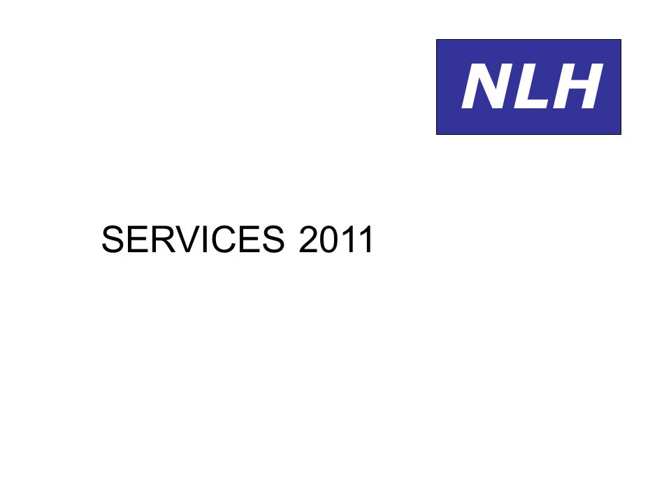 NLH SERVICES 2011