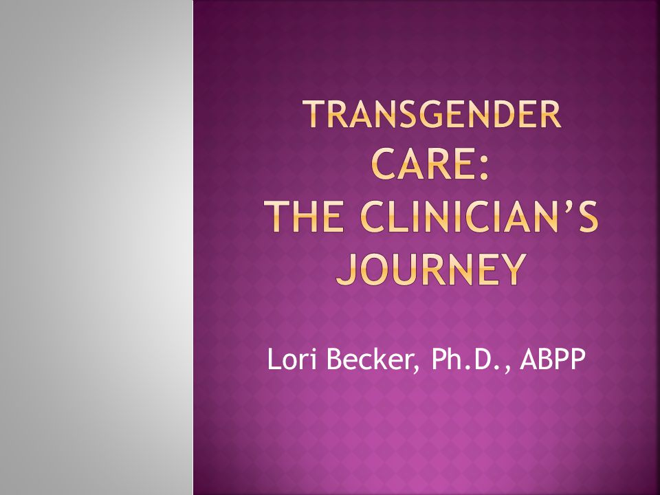 Lori Becker, Ph.D., ABPP