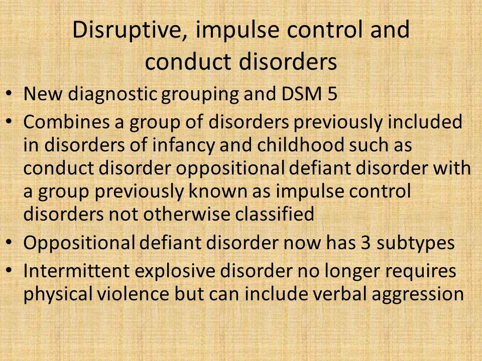 Sexual dysfunctions Some gender related sexual dysfunctions have been outed Now only 2 subtypes-acquired versus lifelong and generalized versus situational New diagnostic class and the DSM 5 Include separate classifications for children adolescents and adults The construct of gender has replaced the construct of sex Gender dysphoria