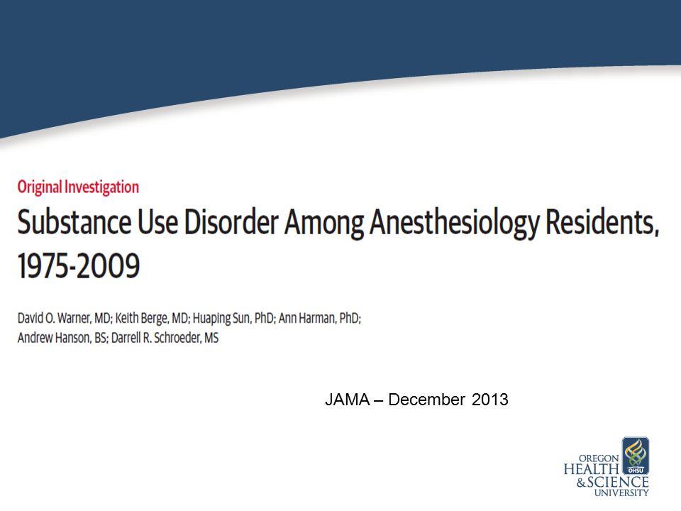 JAMA – December 2013