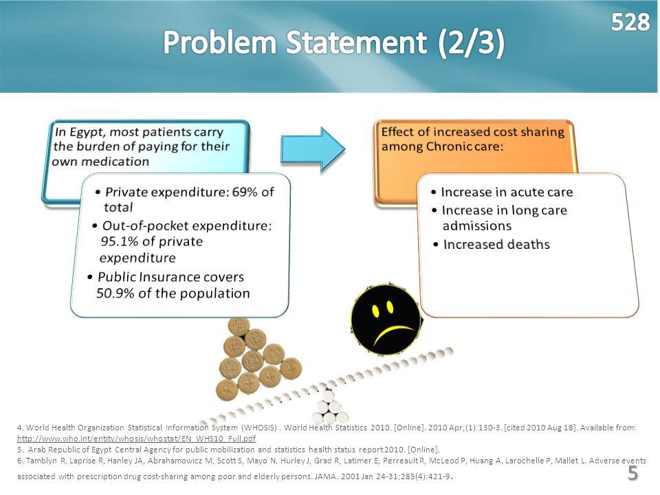 5 4. World Health Organization Statistical Information System (WHOSIS). World Health Statistics 2010. [Online]. 2010 Apr;(1):130-3. [cited 2010 Aug 18