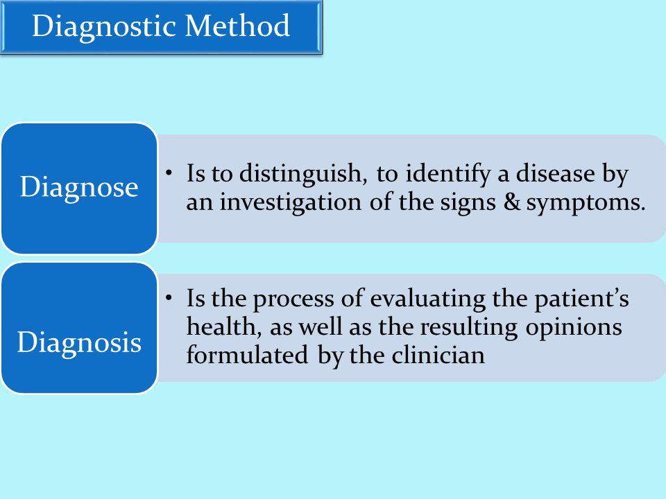 Diagnostic Method b- Preliminary Decision of Diagnostic Information: * Must be made to identify the patient's diagnostic problem & determine the approach to diagnosis.