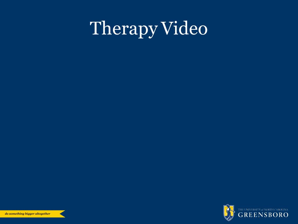 Therapy Video