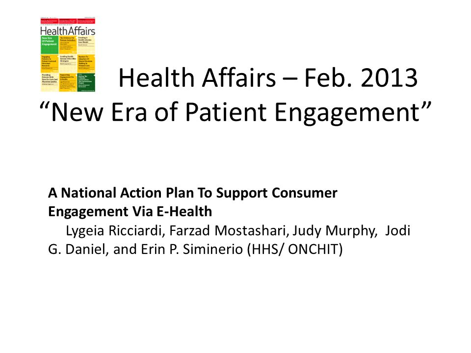 Health Affairs – Feb.