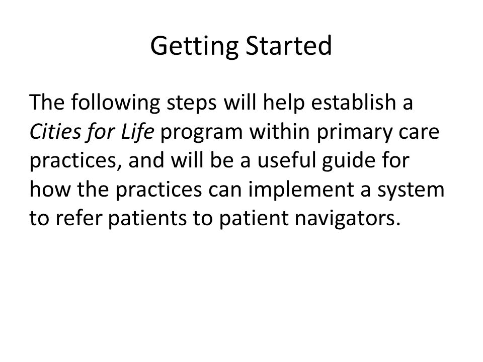 Step 5: Refer Patients Who will fill out the referral form and at what point during the patient encounter.