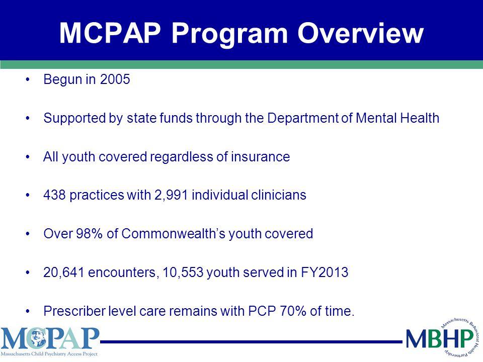 MCPAP Expanding Services Perinatal/postpartum depression screening and management.