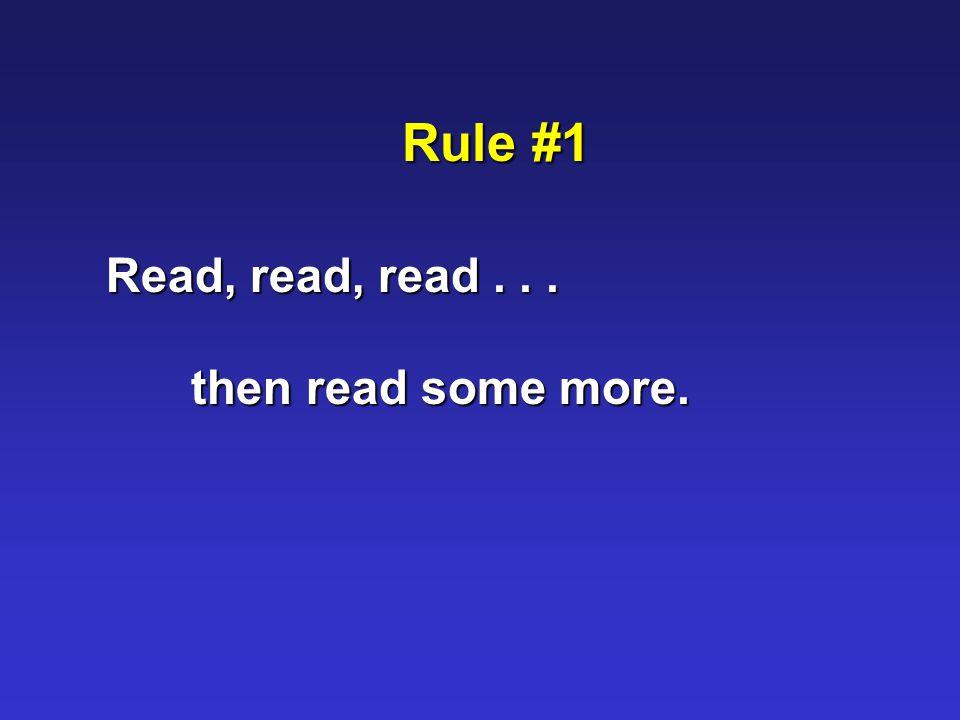 Rule #5 Don't teach!... facilitate learning.