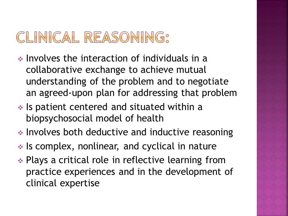 Schön s model of reflective practice.2.Wainwright S F et al.