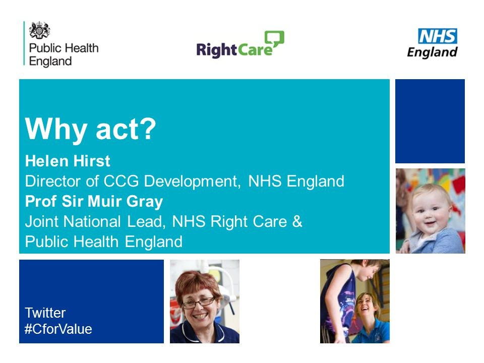 NHS | Presentation to [XXXX Company] | [Type Date]1 Why act? Helen Hirst Director of CCG Development, NHS England Prof Sir Muir Gray Joint National Le