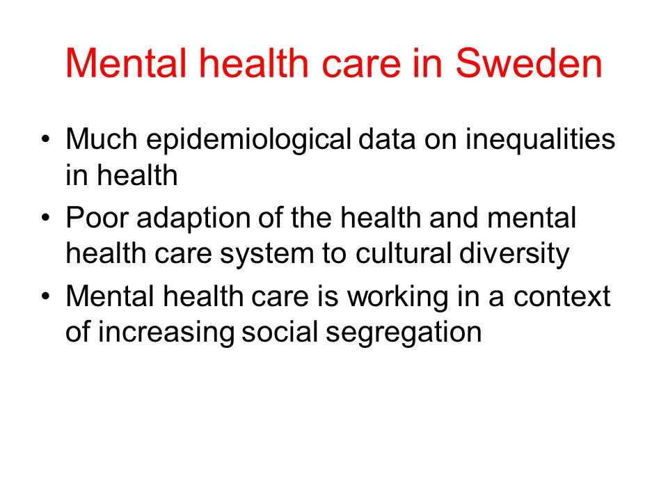 Example of a multicultural suburban area Rinkeby 89.3% foreign born background At the top of all ill health, disability and poor income index lists…..