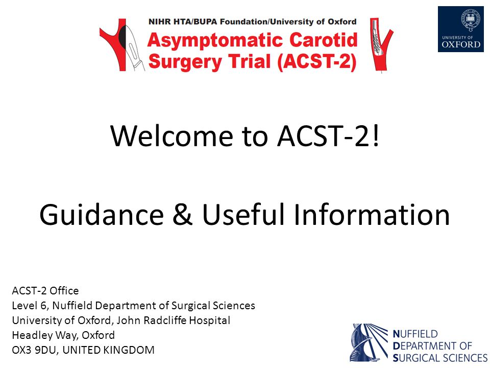 Welcome to ACST-2.