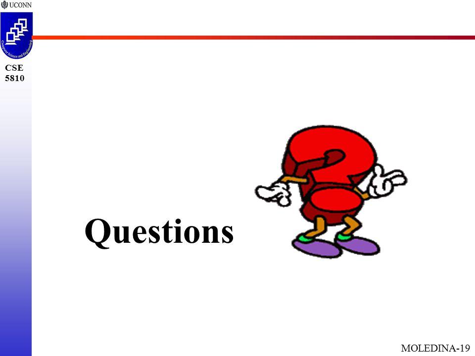 MOLEDINA-19 CSE 5810 Questions