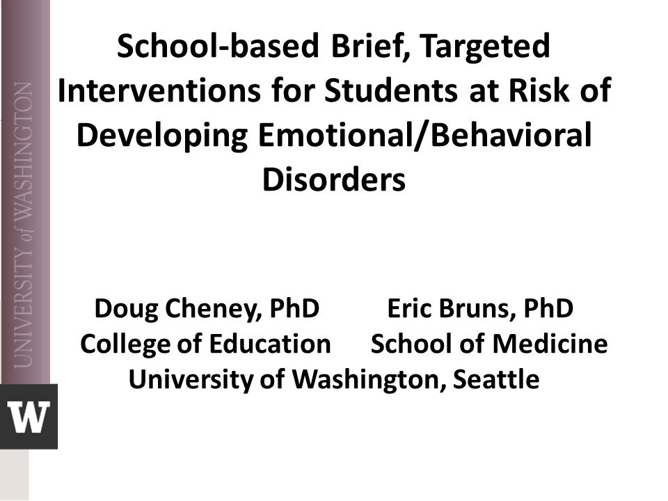 Participant Characteristics Participants:  50% self-referred  63.6% clinically significant elevation on problem scale—most depression or anxiety  Many reported poor academic performance, 58% had failed 1 or more classes in the prior semester Engagement:  9 completed the 4-session BRISC intervention; 1 dropped out after 2 sessions, 1 never engaged, and 1 is still in treatment BRISC Brief Intervention for School Clinicians