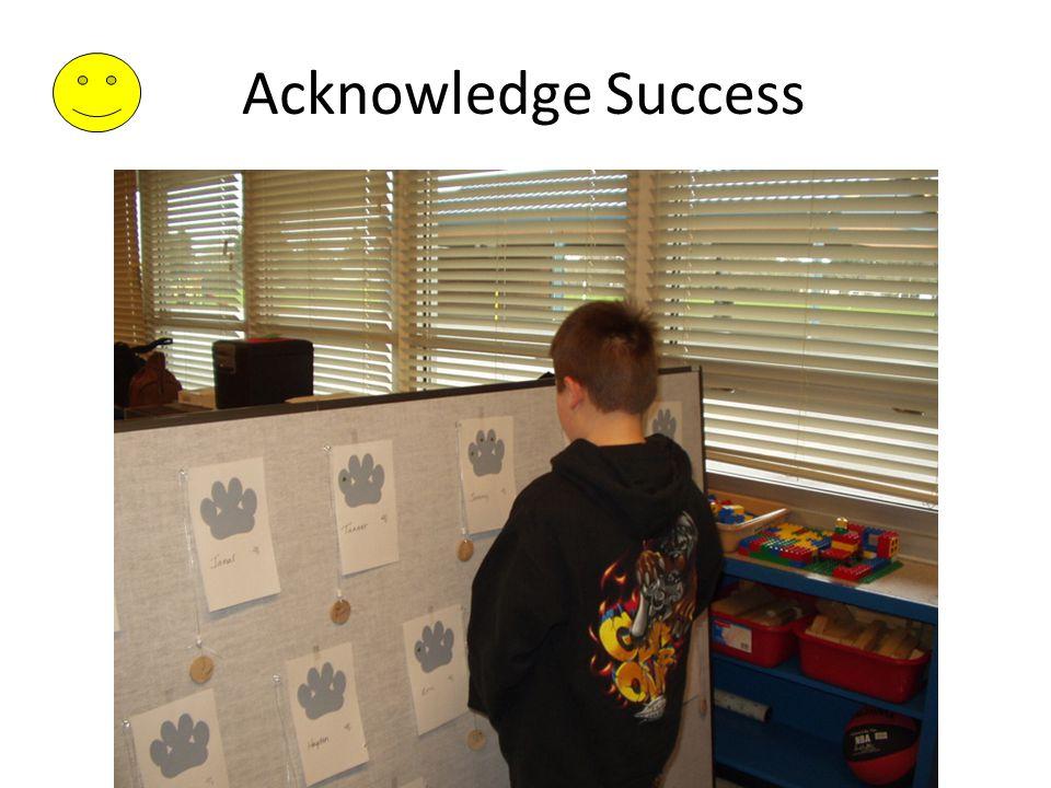 Acknowledge Success