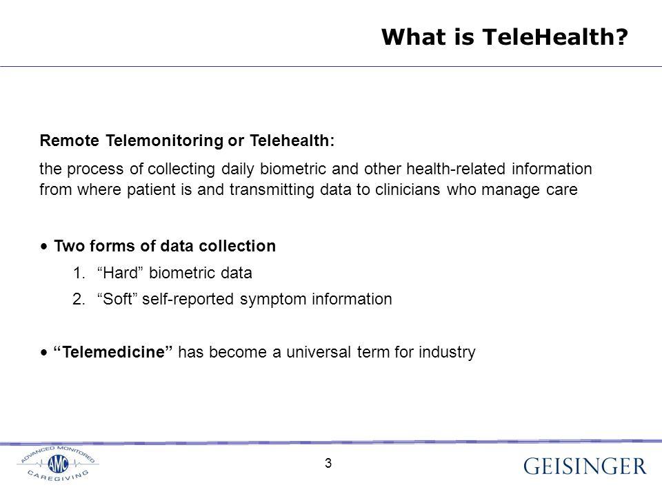 3 What is TeleHealth.