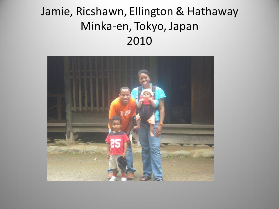 Jamie, Ricshawn, Ellington & Hathaway Minka-en, Tokyo, Japan 2010