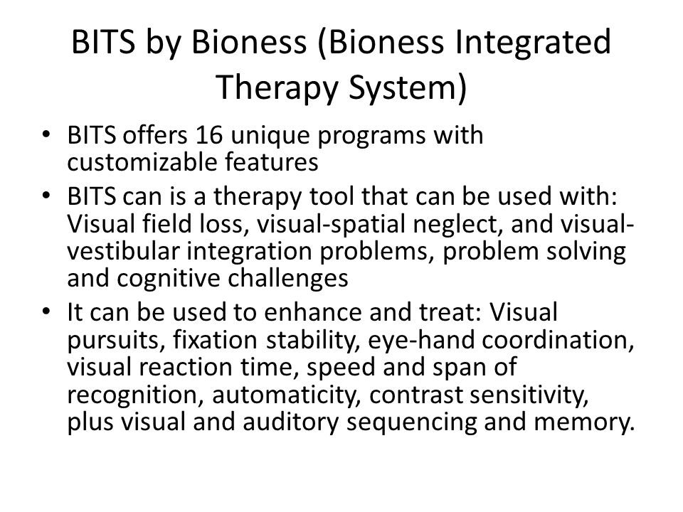 Bioness integrated therapy system