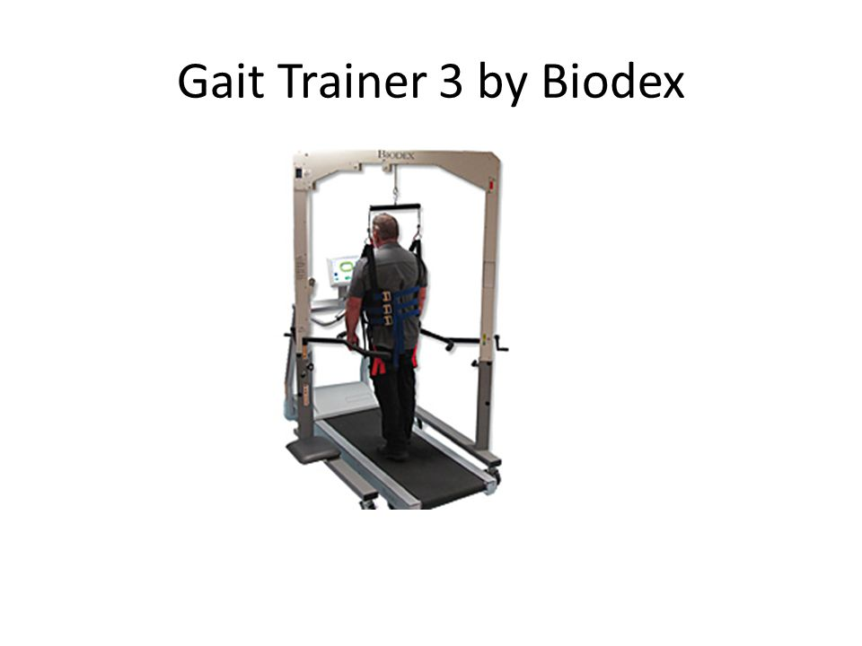 Gait Trainer 3 by Biodex