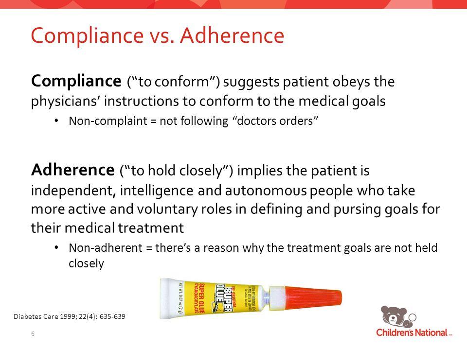 Compliance vs.
