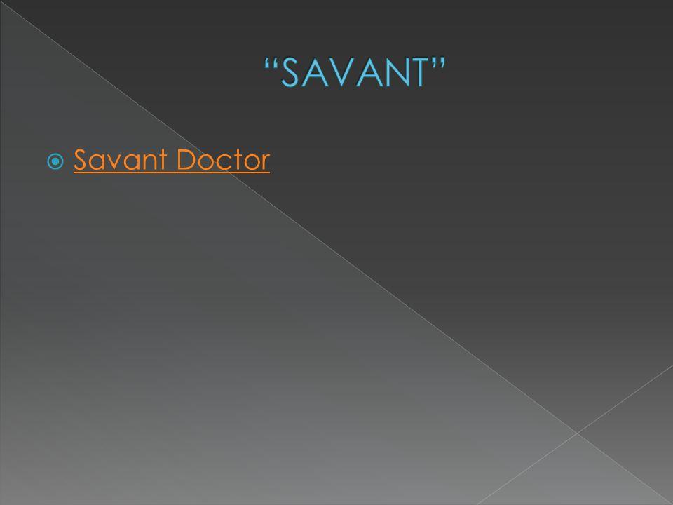  Savant Doctor Savant Doctor