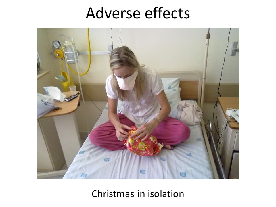 Adverse effects Christmas in isolation