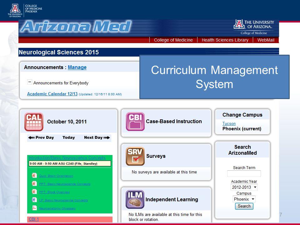 27 Curriculum Management System