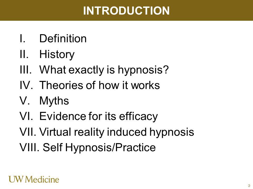 MYTHS OF HYPNOSIS Hypnosis is the same as sleep.