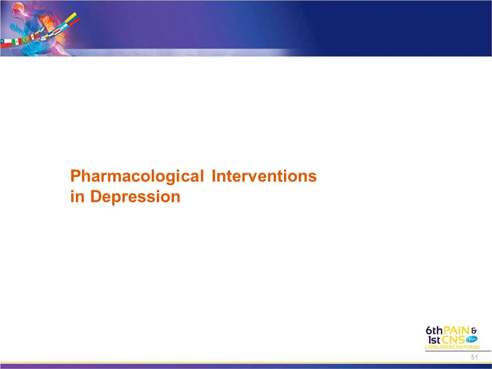 Pharmacological Interventions in Depression 51