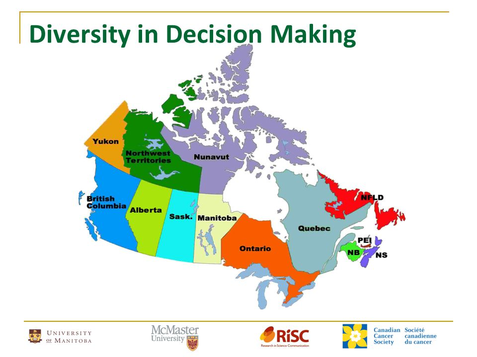 Diversity in Decision Making