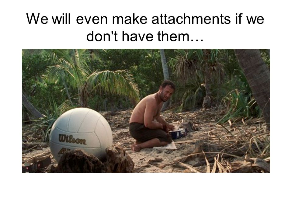 We will even make attachments if we don't have them…