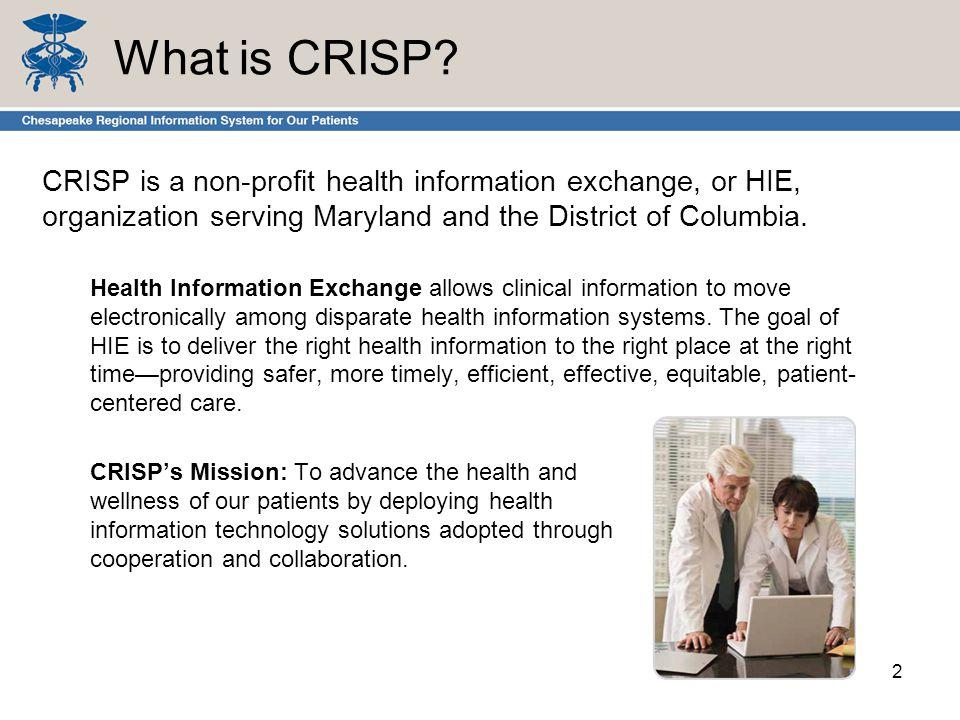 What is CRISP.