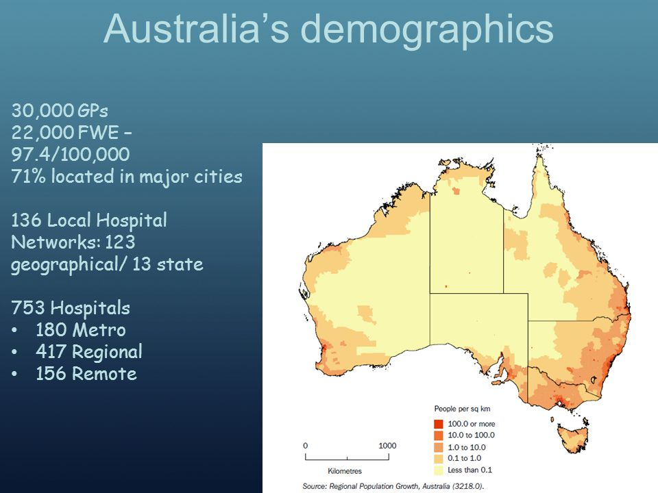Age Structure Source: ABS 2012, Australian Demographic Statistics, March 2012, cat.