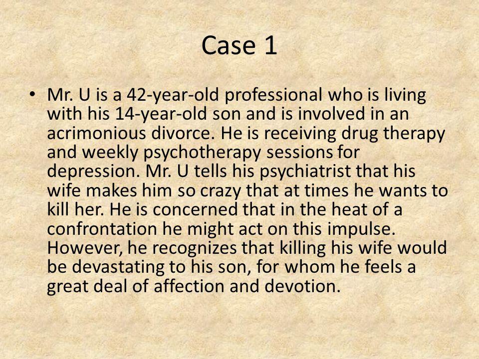 Case 1 Mr.