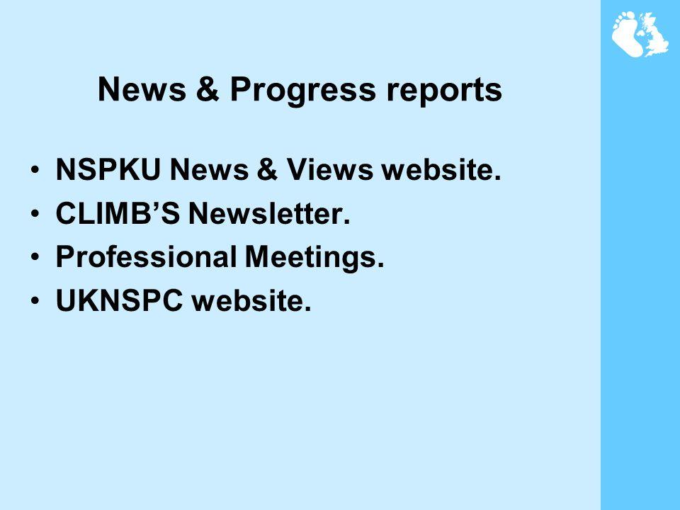 News & Progress reports NSPKU News & Views website.