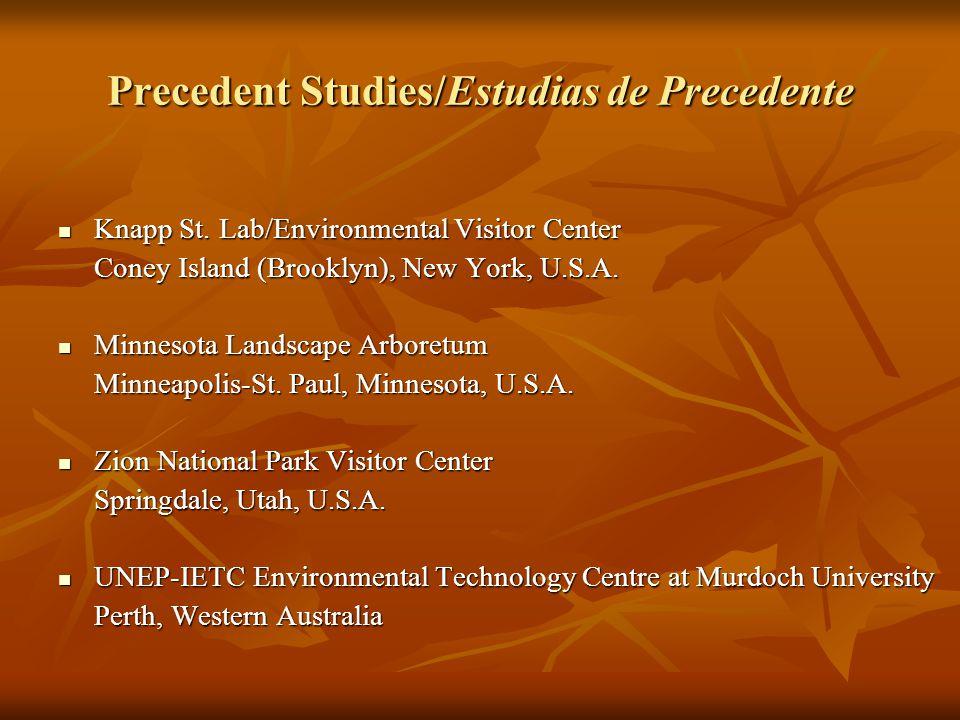 Precedent Studies/Estudias de Precedente Knapp St.