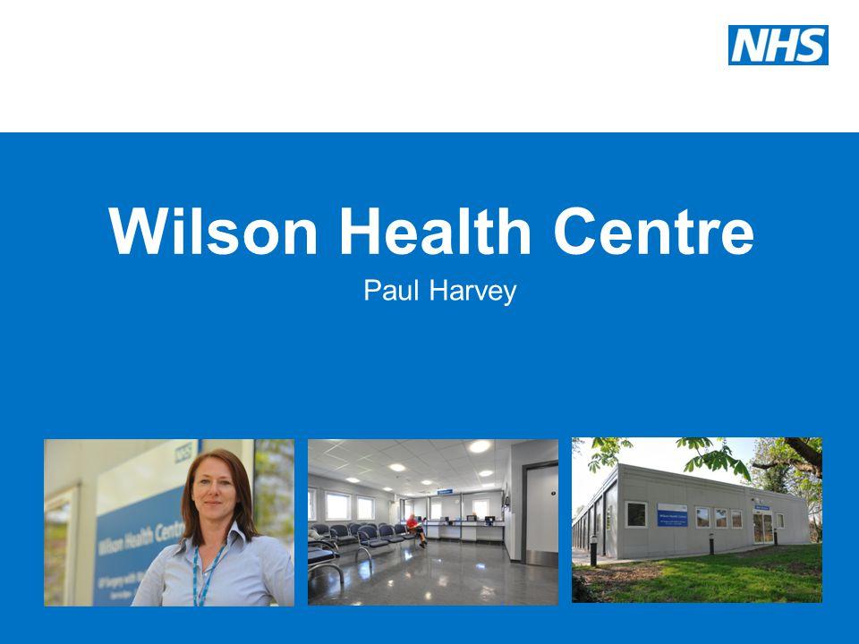 Wilson Health Centre Paul Harvey