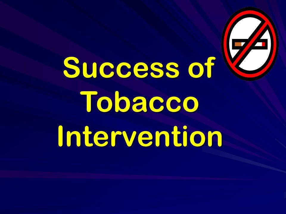 Success of Tobacco Intervention