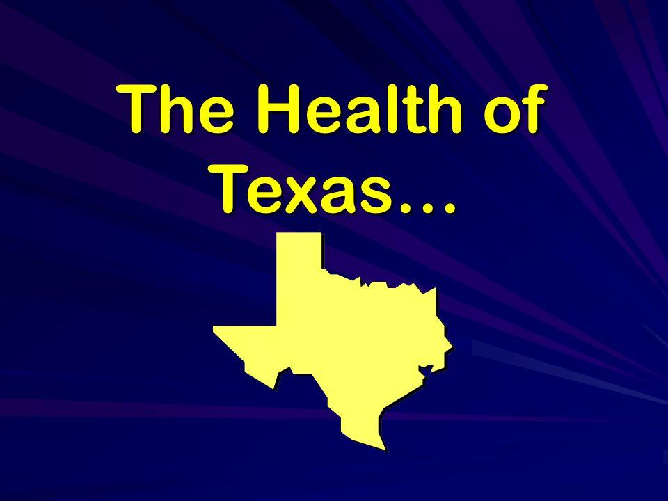 The Health of Texas…