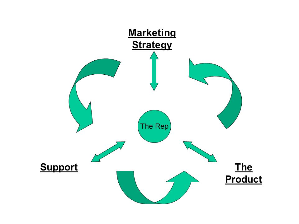 Support Marketing Strategy The Product The Rep