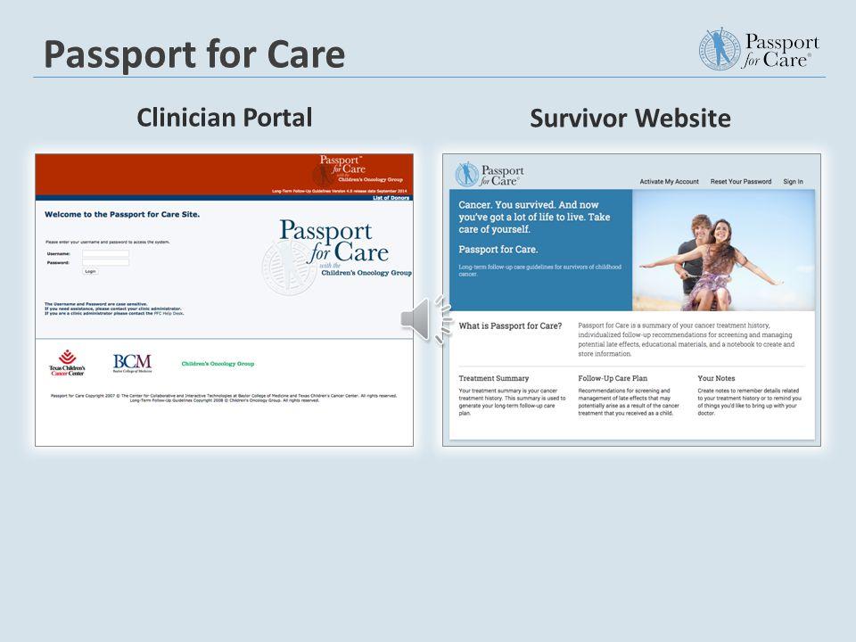 What is the Survivor Website?